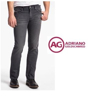 AG Matchbox Slim Straight Legs Jeans Stone Grey